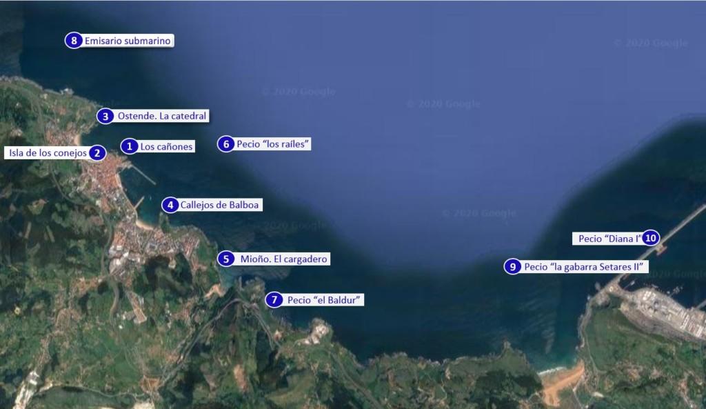 Inmersiones habituales en Castro Urdiales